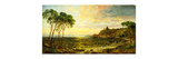 Sunset over Lake Thrasemine Premium Giclee Print by Jasper Francis		 Cropsey