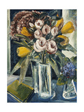 Still Life of Flowers Giclee Print by Paul		 Kleinschmidt