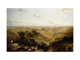 Jerusalem (looking South) Prints by David		 Roberts