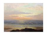 Placid Sunset Kunst von Frederick Judd Waugh
