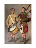 MacPherson and MacDonald Premium Giclee Print by Julius Gari Melchers