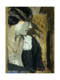 Profile of a Woman Giclee Print by Edouard		 Vuillard