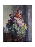 Interior with Bouquet of Flowers Giclee Print by Henri		 Lebasque