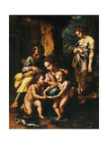 The Spinola Holy Family Prints by Giulio		 Romano