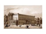 Unter den Linden, Berlin Giclee Print by Karl Loeillot-Hartwig