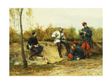 The Prisoner Giclee Print by Etienne Prosper Berne-Bellecour