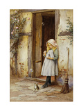 Bubbles for Kitty Giclee Print by Charles Edward		 Wilson