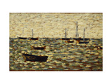 The Sea at Grandcamp Giclee Print by Georges Seurat
