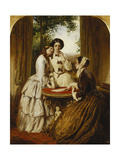 Doubtful Fortune - We Knnow We're Cheated, Yet Would Fain Believe Prints by Abraham		 Solomon
