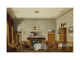The Interior of a Room, Christ Church, Oxford Giclee Print by George		 Pyne