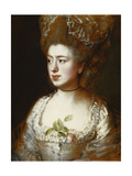 Portrait of Miss Mary Gainsborough, Later Mrs. Fischer, the Artist's Daughter Premium Giclee Print by Thomas		 Gainsborough