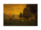 Sundown Brilliance Giclee Print by Sr., George Inness