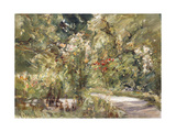 Garden by the Wansee Reproduction procédé giclée par Max		 Liebermann