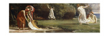 Nausicaa and her Maidens playing at Ball Premium Giclee Print by Edward John Poynter