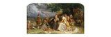 The Musical Party Premium Giclee Print by Fausto		 Zonaro
