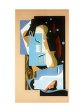 Still Life with The Great Bear Giclee Print by Louis		 Marcoussis