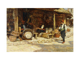 Metalworkers, Sarajevo, Bosnia. Giclee Print by Terrick		 Williams