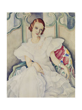 Portrait of a Lady Giclee Print by Gerda		 Wegener