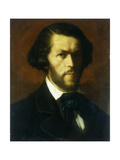 Portrait of a Gentleman, bust length Giclee Print by Gustave		 Courbet