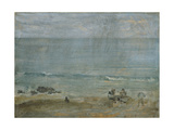 By the Shore, St. Ives. Giclee Print by James Abbott McNeill Whistler