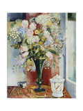 Summer Flowers in a Vase Giclee Print by Arthur		 Percy