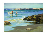 Low Tide Premium Giclee Print by Edward Henry		 Potthast