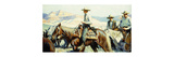 Tall in the Saddle Premium Giclee Print by William Henry Dethlef		 Koerner
