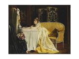 Après le bal Impression giclée par Charles Baugniet