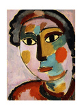 Head Posters by Alexej Jawlensky