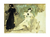 Two Women Giclee Print by Edouard		 Vuillard