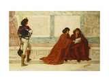 Despatch from Trebizond; 'Some news is come that turns their countenances' - Shakespeare Giclee Print by Henry		 Wallis