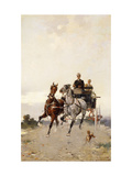 Trotting Giclee Print by Alfredo		 Tominz