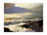 Rain Clouds and Sea Prints by Frederick Judd		 Waugh