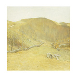 The Hills Giclee Print by Bruce Crane