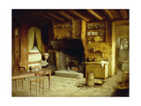 A Brittany Kitchen Prints by Charles Atherton		 Cumming