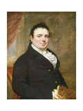 Portrait of a Gentleman Giclee Print by (attributed to) John Wesley Jarvis
