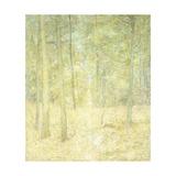 A Woodland Scene Giclee Print by Soren Emil Carlsen