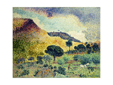 La Chaine des Maures Posters by Henri Edmond		 Cross
