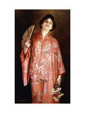 The Pink Kimono Giclee Print by Max Nonnenbruch