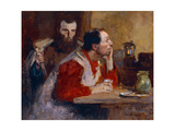 In a Tavern Giclee Print by Julius Gari		 Melchers