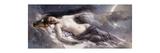 Luna Premium Giclee Print by Leon Francois Comerre