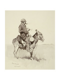 Jack's Man William, A Modern Sancho Panza Giclee Print by Frederic Sackrider Remington