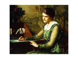 Turning a Phrase Giclee Print by Charles Yardley Turner