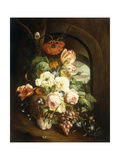 Still life with Assorted Flowers Prints by Josef		 Holstayn
