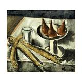 Still-life with Fish Impression giclée par Maurice Vlaminck