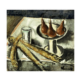 Still-life with Fish Giclee Print by Maurice Vlaminck