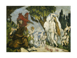 The Temptation of Saint Anthony Giclee Print by Paul Cézanne