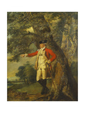 Portrait of Colonel Charles Heathcote Art by Joseph		 Wright of Derby