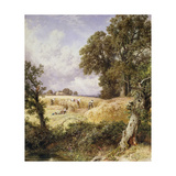 The Reapers Giclee Print by Myles Birket		 Foster