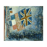 The Big Parade Print by Childe Hassam